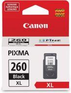 Cartouche D'encre Noir D'origine OEM Haut Rendement Canon PG-260XL (PG260XL)