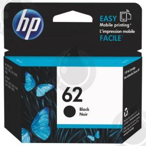 Cartouche d'encre Noir d'origine OEM Vivera Hewlett Packard C2P04AN (HP 62)