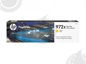 Cartouche d'encre Originale OEM HP 972X L0S04AN Haut Rendement - Jaune