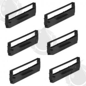 6 Rubans Noir Compatible Epson 8750