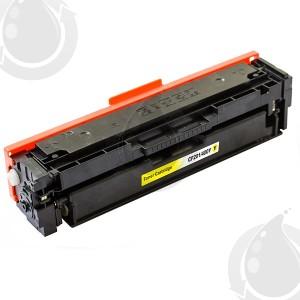 Cartouche Toner Laser Jaune Compatible Hewlett Packard CF402X (HP 201X) Haut Rendement