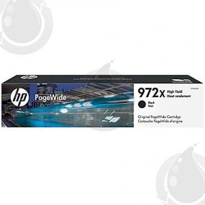 Cartouche d'encre Originale OEM HP 972X F6T84AN - Haut Rendement - Noir
