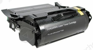 Cartouche Toner Laser Noir Réusinée Lexmark X654X11A / X654X21A EXTRA Haut Rendement