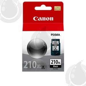 Cartouche d'encre Noir d'origine OEM Canon PG210XL Haut Rendement