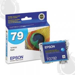 Cartouche d'encre Cyan d'origine OEM Epson T079220 (T0792) Haut Rendement