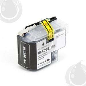 Cartouche encre compatible BROTHER LC20E BK- Extra Haut Rendement - Noir