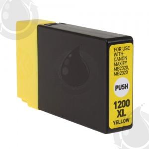 Cartouche d'encre Jaune Compatible Canon PGI-1200XL 9198B001 Haut Rendement