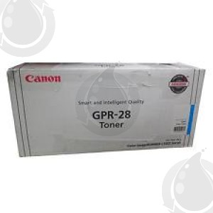 Cartouche Toner Laser OEM CANON GPR28 / 1659B004AA - Cyan