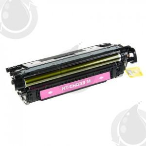 Cartouche Toner Laser Magenta Réusinée Hewlett Packard CF033A (HP 646A) Haut Rendement Pour Imprimante HP Laserjet Entreprise CM4540