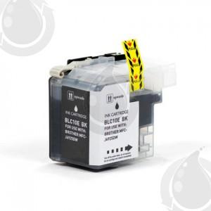 Cartouche encre compatible BROTHER LC10E BK- Extra Haut Rendement - Noir