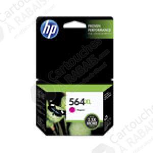 Cartouche d'encre Magenta d'origine OEM Vivera Hewlett Packard CB324WN (HP 564XL) Haut Rendement