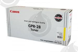 Cartouche Toner Laser OEM CANON GPR28 / 1657B004AA - Jaune