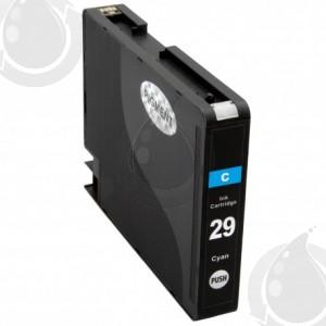 Cartouche Cyan Compatible Canon PGI29C pour Imprimante Pixma PRO-1
