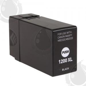 Cartouche d'encre Noir Compatible Canon PGI-1200XL Haut Rendement