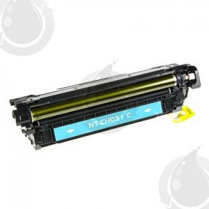Cartouche Toner Laser Cyan Réusinée Hewlett Packard CF031A (HP 646A) Haut Rendement Pour Imprimante HP Laserjet Entreprise CM4540