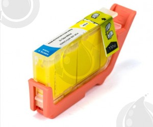 Cartouche Yellow Compatible Canon PGI72 pour Imprimante Pixma PRO-10