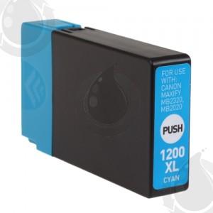 Cartouche d'encre Cyan Compatible Canon PGI-1200XL 9196B001 Haut Rendement