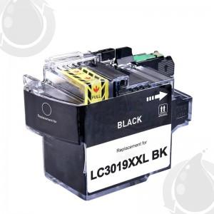 Cartouche encre compatible BROTHER LC3019BK - Extra Haut Rendement - Noir