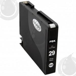Cartouche Noir Photo Compatible Canon PGI29PBK pour Imprimante Pixma Pro-1