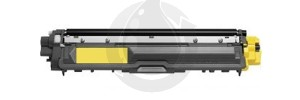Cartouche Laser Toner Compatible BROTHER TN221Y TN225Y - Haut Rendement - Jaune