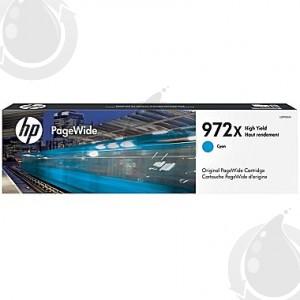 Cartouche d'encre Originale OEM HP 972X L0R98AN - Haut Rendement - Cyan